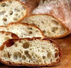 Homemade Sin-Amasar Ciabatta Pan