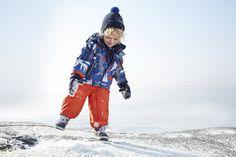 Winter jacket FOX, pants STOCKHOLM, wool beanie BLIXT
