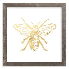 """""""Free to Bee Me"""" - Art Print by Rose Lindo in beautiful frame options and a variety of sizes."""