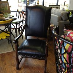 This heat wave we are going through has made us crazy! Come check out our marked down furniture for Krazy Daze! This chair is 50% off!