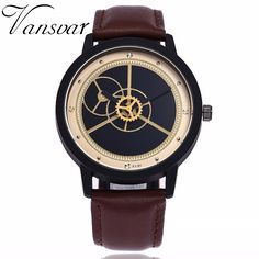 Genteel Women Men Simple Watches Leather Band Analog Hour Quartz Business Wristwatch Fashion Casual Clock Relojes Mujer Relojes Hombre Fashionable Patterns Watches