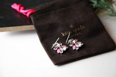 Kate Spade New York Frosty Floral Drop Earring