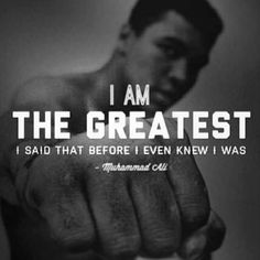 The G.O.A.T.: Greatest Of All Time!