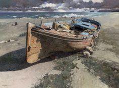 Xiao Song Jiang, 1955 | En plein air /Palette Knife painter | Tutt'Art…
