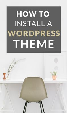WordPress tips: whether it is a free or a premium theme, use our guidance on installation it to your website.