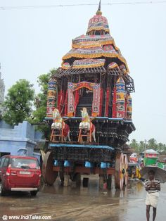 Wooden Ratham or Chariot at Suchindram Temple Tourist Places TOURIST PLACES : PHOTO / CONTENTS  FROM  IN.PINTEREST.COM #TRAVEL #EDUCRATSWEB
