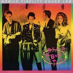 The B-52's - Cosmic Thing on Numbered Limited Edition LP from Mobile Fidelity Silver Label www.directaudio.net
