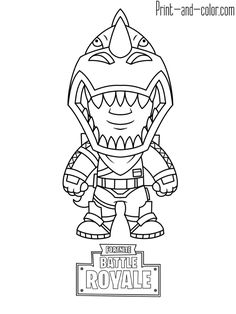 Fortnite Coloring Pages For Kids — Mister Coloring Coloring Pages For Boys, Coloring Pages To Print, Free Printable Coloring Pages, Coloring Book Pages, Coloring Sheets, Art Drawings For Kids, Easy Drawings, Planning Sport, Monster Truck Coloring Pages