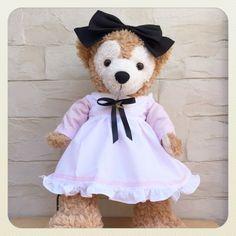 43cm・Sサイズのダッフィー・シェリーメイ用のお洋服です。別ページにて色違いのワンピース(水色)も販売しております。ピンク色の可愛いアリス服です。エプロンに...|ハンドメイド、手作り、手仕事品の通販・販売・購入ならCreema。