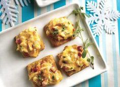 Flaky crescents and tender crab team deliciously in a classic appetizer made so easily.