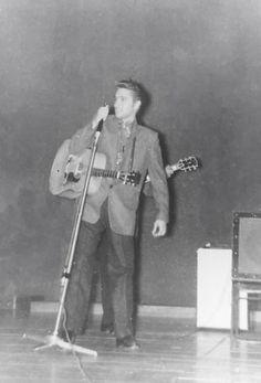 May 27, 1956 Elvis performed at the University of Dayton Fieldhouse, Dayton, Ohio.