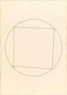 Robert Mangold. Circle Drawing #2. 1973