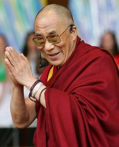 I envision a world where an attitude of peace, tolerance and compassion inhabits all human beings like it does in the Dalai Lama.