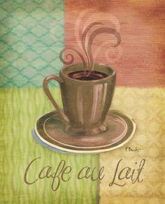Quattro Coffee II Art Print