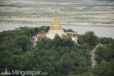 Nice view. Pagodas in Myanmar