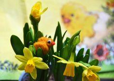 Happy Easter Needle Felted Animal Needle Felted by JirsaFELT