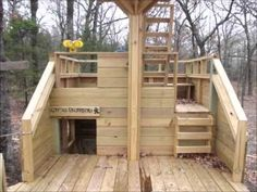 Pirate Ship Playhouse Plans - I would LOVE to have a playhouse like this!