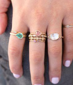 18k Paraiba Tourmaline Ring - Audry Rose