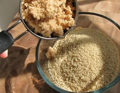 Home made sugar scrubs for body and lips.  Easy to make and great for that at home spa day.