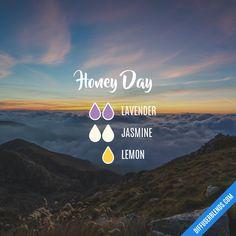 Blend Recipe: 2 drops Lavender, 2 drops Jasmine, 1 drop Lemon
