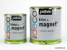 pebeo EFFEKT MAGNET - Bunte Tafelfarben, Tafellacke, Magnetfarben, Whiteboardfarben, Marker und Zubehör