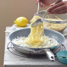 Zitronen-Nudeln | BRIGITTE.de