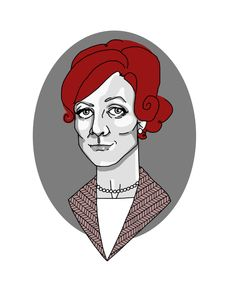 Maggie Smith, illustration by Jemima Williams