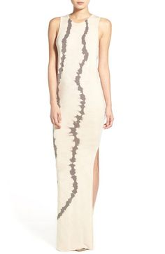 Young, Fabulous & Broke 'Samantha' Tie Dye Maxi Dress
