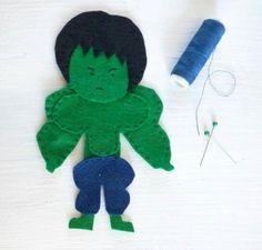 """Pupazzetto """"Hulk"""""""