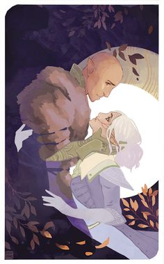 A beautiful tarot card I commissioned from the lovely ! Dragon Age Inquisition Solas, Dragon Age Solas, Dragon Age Origins, Dragon Age Tarot Cards, Dragon Age Romance, Character Inspiration, Character Design, Dragon Age Series, Dragon Age Games