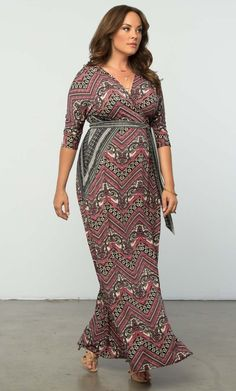 Check out the deal on Moroccan Maxi Wrap Dress at Kiyonna Clothing (affiliate link)