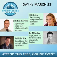 In the last three days, you've seen nearly 10  hours of life-changing information about diabetes and health! When's the last time you spent that much time over a few days focused on your health?  Well, let me just tell you... nice job!  It's Time For Day Four!  Access Today's Talks by Clicking HERE To Sign up for this Free Online Event!  https://vj173.isrefer.com/go/ds17reg/MessiahMews/