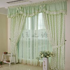 styles of bedroom curtains