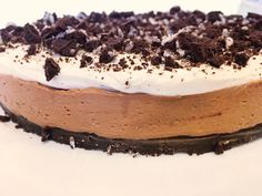 Oreo/nutella cheesecake by ams