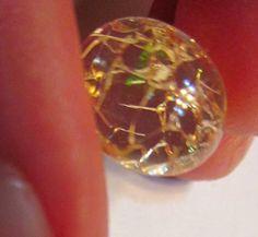 Rare Strange Beautiful Natural Welo Gold Hair Opal by Paleospark