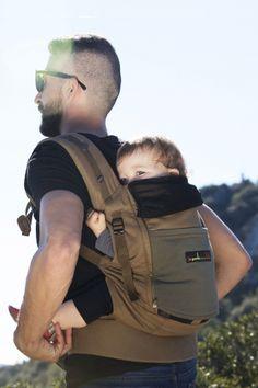 voir cette epingle et dautres s dans je porte mon bebe par madoso physiocarrier safari poche olive fonce