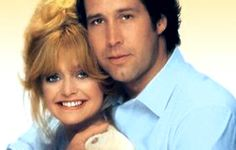 Seems Like Old Times  Chevy Chase and Goldie Hawn, stars of the 1978 comedy thriller Foul Play, team up again for this caper. Hawn is her usual ditzy self, playing a liberal lawyer who finds her ex-husband (Chase) is shacked up in her garage, on the run after committing a bank robbery. How will her dull lawyer husband Charles Grodin cope with the news? Thanks to Neil Simon's witty script, it's good lightweight fun with a frantic pace and plenty of laughs