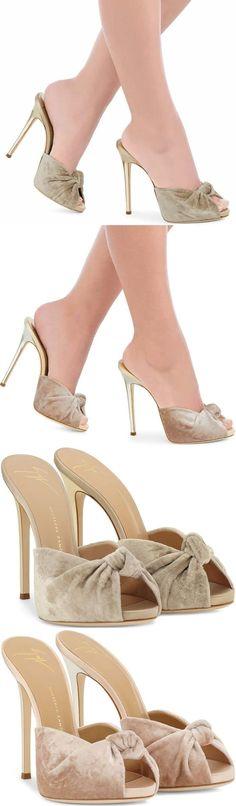 "Giuseppe Zanotti ""Bridget"" sandals #giuseppezanottiheels2017"