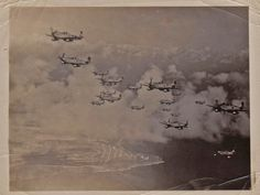WWII Planes in the air  -  from a real WWII Vet