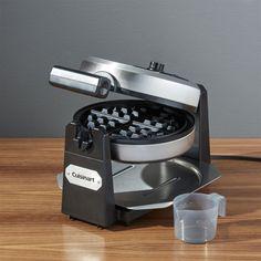 Free Shipping.  Shop Cuisinart Belgian Waffle Maker WAF-F10.  Make delicious, extra-thick Belgian waffles with a professional touch.  Restaurant-style waffler rotates for even baking.