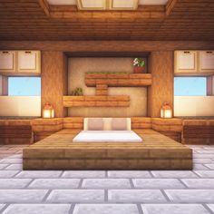Modern Minecraft Bedroom Harry potter - Mine Minecraft World Modern Minecraft Houses, Minecraft Mansion, Minecraft Plans, Minecraft Room, Minecraft House Designs, Minecraft Tutorial, Minecraft Blueprints, Minecraft Architecture, Minecraft Creations