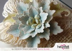 Sparkling Poinsettia Step by Step Coloring and Shaping Tutorial | Blog Post