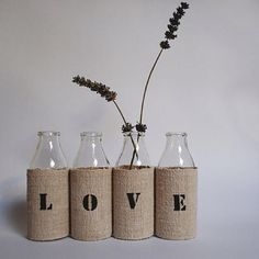 I love anything burlap!!!