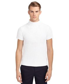 Loving the white, who knows how long that will stay clean with all the women (and men) who will be drooling on it as he walks down the street though. #turtleneckhottieproblems
