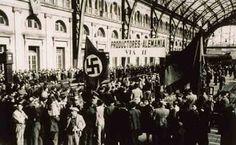 BELLUMARTIS HISTORIA MILITAR: ESPAÑOLES EN LOS ÚLTIMOS DÍAS DEL TERCER REICH. I PARTE  Salida de trabajadores españoles para Alemania