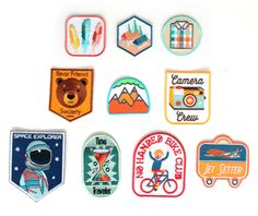 :: Image of Iron on Patches, form Mukoyobithreads.com