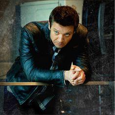Jeremy Renner as Hawkeye in the #Avengers wears the Matchless Osborne Blouson