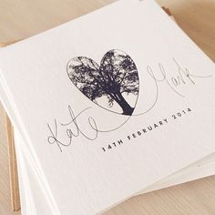 Something from this week :) #wedding #invitation #letterpress #weddinginvitation #heart #handwriting #handlettering