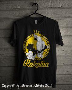 Kakatua Tshirt by Mondeck Maluku