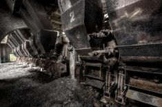 """These look like old """"ovens"""" for steel - abandoned-architecture-aurelien-villette6"""